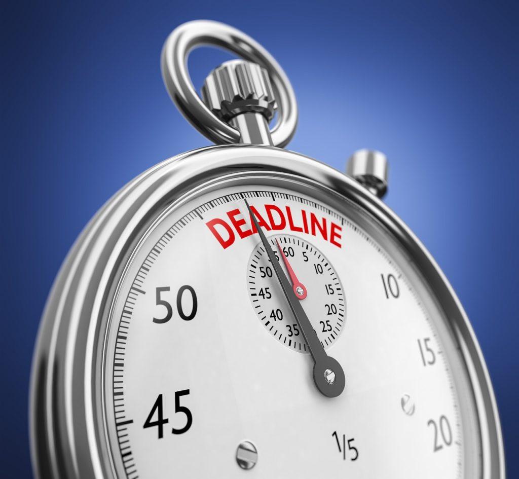Дедлайн и сроки в копирайтинге